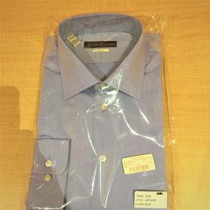 Hickey Freeman - COTTON CLASSIC FIT MAUVE DRESS